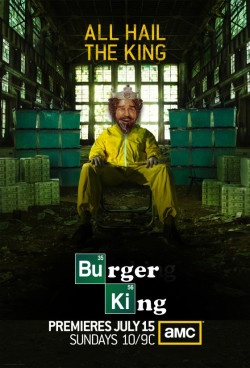 funnyordie:  Rejected Poster for 'Breaking Bad' Season 5 Sometimes the first draft is the best draft.  Guess they couldn't have it their way
