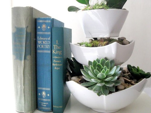 Tiered Planter(via Craft Berry Bush)