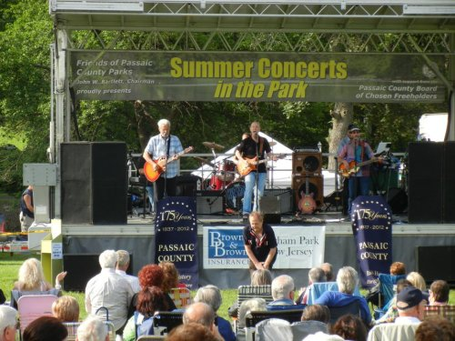 Taken at our show at Friends of Passaic County Parks on Saturday, June 2, 2012. Thanks to everybody that came out and rocked the park with us.