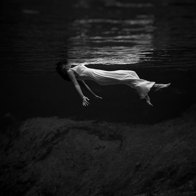 Toni Frissell: Weeki Wachee spring, Florida, 1947 by trialsanderrors on Flickr.