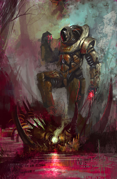 creaturesfromdreams:  Taming the Beast by ~2wenty —-x—- More: | Robots | Random |