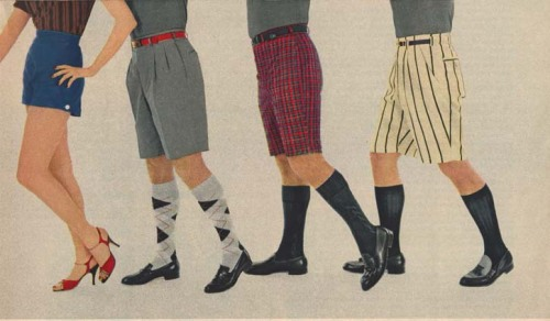 Esquire's shorts round up in 1956