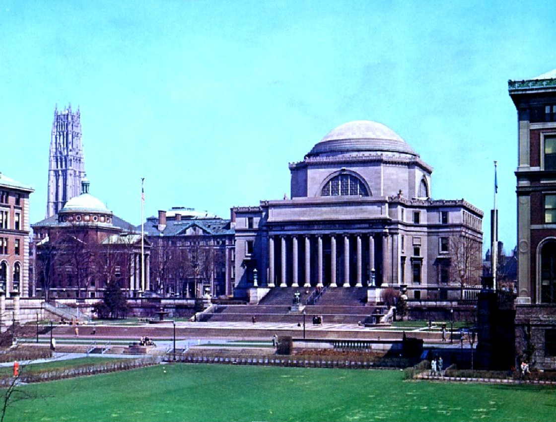 At Columbia University, New York