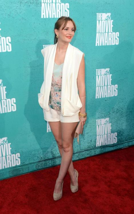 Leighton Meester @ 2012 MTV Movie Awards