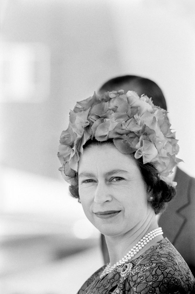 life:  Not published in LIFE: Queen Elizabeth II in Ethiopia, 1965. See more photos here.