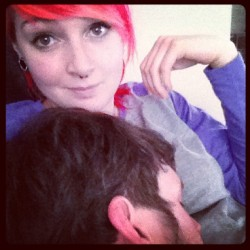 Sleeping cutie💜 #boy #cute #cutie #boyfriend (Taken with instagram)