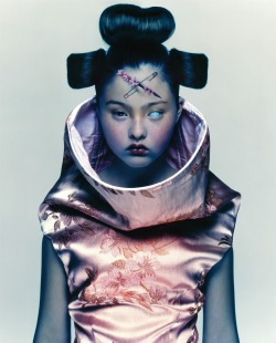 I just adore Nick Knight's work.  Photographer: Nick Knight Source: showstudio.com