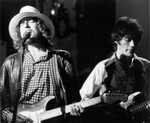 100 Pictures of Great Bob Dylan 91/100  Bob and the Band