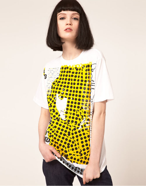 Danielle Scutt T-Shirt With Polka DotMore photos & another fashion brands: bit.ly/JgQseR