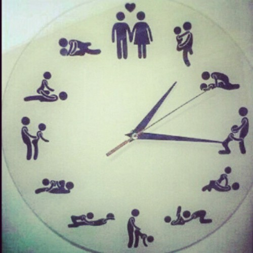 U #kno wat #time it is ;) #everyday at every #minute I #think about #sex :p #cannot #wait till #I'm #taken :) #every #hour ima #change #position #do #it #anywhere as #long as #she's #around wer #doingit to #catch up in #our #luv I just #hope #she can #keep #up :p #single n #loving it  (Taken with instagram)