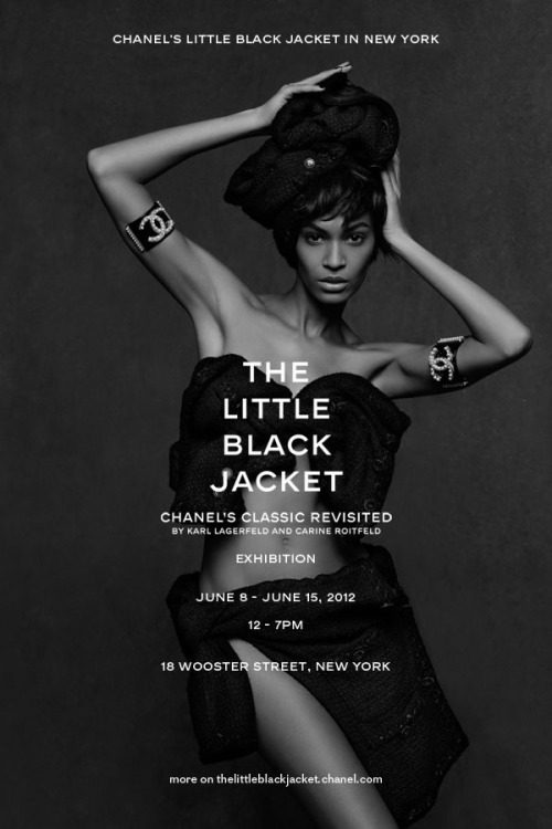 "Chanel's ""The Little Black Jacket"" exhibition in New Yorkthelittleblackjacket.chanel.com"
