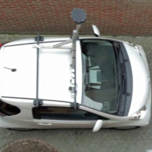 Google Maps car (Taken with instagram)