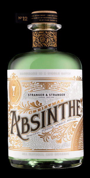 Time to see the green fairies. Absinthe packaging.