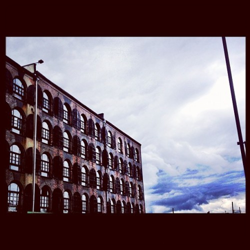 Red Hook #brooklyn #cityscape #colors #architecture #sky #nyc (Taken with instagram)