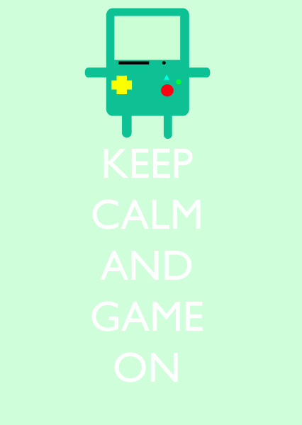 eatsleepdraw:  a lot of people liked this mix of adventure time and keep calm, so i decided to share it more :)