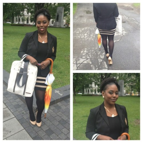 #singingintherain #park #downtobusiness #black #ysl #pumps #ralphlauren (Taken with instagram)