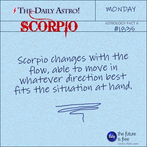 Scorpio 1835: Check out The Daily Astro for facts about Scorpio.and get a free online I Ching reading here