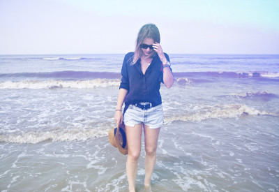 lookbookdotnu:  THE BEACH (by Sabrina M)