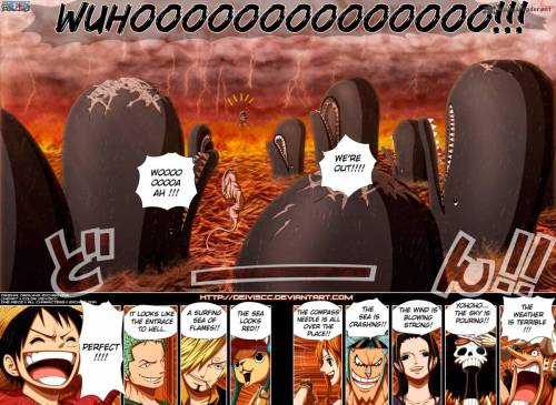 What the StrawHats thought of the New World when they entered it. You'd have to be crazy to think this stuff but then again thats why we love them!