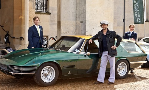 "Virtually Insane: Jay Kay's Car Collection There are hoards of rich celebrities with cool cars, but few celebrities match Jay Kay and his taste for automotive history. Yes that's right, the lead singer for Jamiroquai has quite the diverse collection. Kay has had a long love affair with cars and after hitting it big, he went out and spent millions on some rare exotics and some other fun toys. The ones shown above are as follows; a Lamborghini Miura SV, a one-off Ferrari 330 GT 2+2 Shooting Brake, one of two Maserati A6G/54 Frua Berlinettas, a beautiful Porsche 356 Speedster, a Mercedes-Benz 300SL Roadster, an Aston Martin DB5, a black Ferrari Enzo of which he's written a song about, a Fiat Abarth 1000 which he has named ""naughty,"" a badass black Dodge Charger, and a Porsche 914-6 that placed 3rd in the 1971 Monte Carlo Rally. In addition, he has had the only purple Audi RS6 Avant in the world as a daily driver, a regularly driven Audi RS4, a purple Porsche 911 Carrera RS, a Bentley S1 Continental Drophead, a Ferrari 550 Maranello, a BMW 1602 which he has owned twice, and countless others that have been in and out of his ownership. Like a true enthusiast and not just another celebrity with money to blow, the cars are all driven the way they were intended, regularly, even the most expensive and rare. So of the ones shown above, which one of Jay Kay's cars would you choose?  Photos via Driven, Mycarheaven, Car Guy Chronicles, & Dave Rook, various other sources."