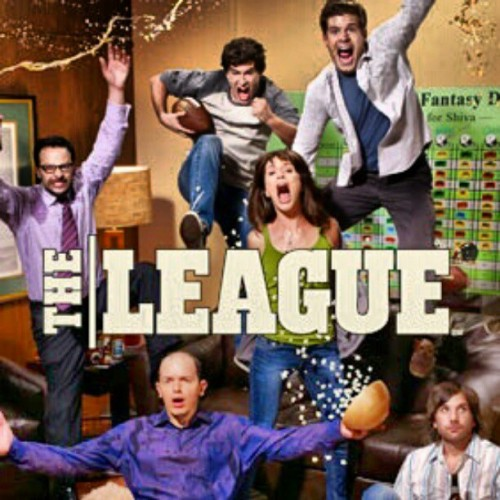 gorillacrew:  #nowwatching the league (Taken with instagram)
