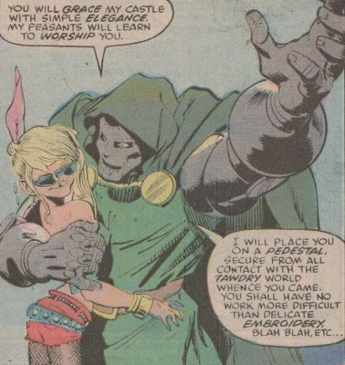 Doom gets all the women.