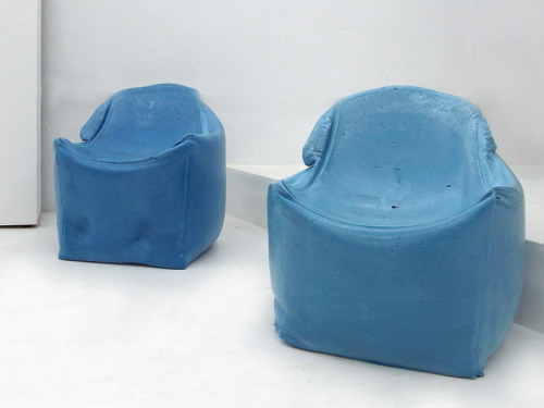 Foam Party Chairs by Martijn Rigters