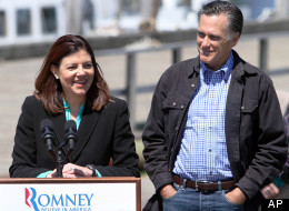Mitt's fully in favor of a female VP - but only if she's able to wear slim cut jeans.