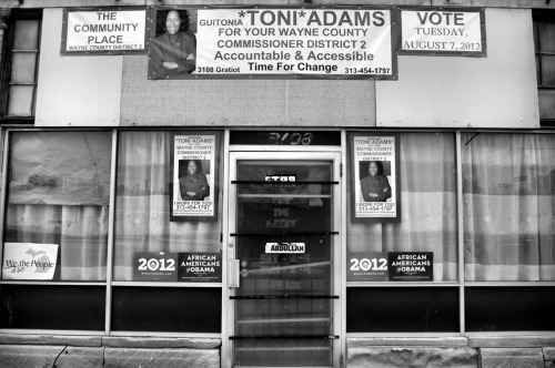 "Guitoni Adams For Your Wayne County Commissioner District 2 ""Accountable & Accessible, Time for Change"" / Gratiot ave / Detroit, Michigan / June 4, 2012"