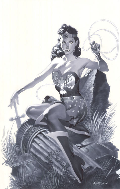 Golden Age Wonder Woman by Chris Stevens