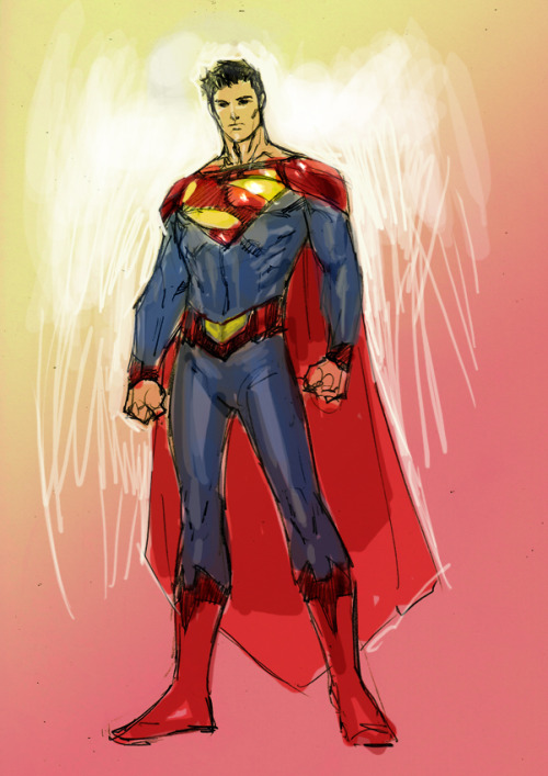 New desktop and cell phone wallpaper.  Jim Lee's Earth 2 Superman