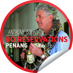 Penang premieres tonight! Check-in to No Reservations during tonight's ep on get glue and unlock this sticker.  Also, Tony will be livetweeting throughout the episode - be sure to follow Tony on twitter —> @Bourdain and join the convo using the '#NoReservations' hashtag.