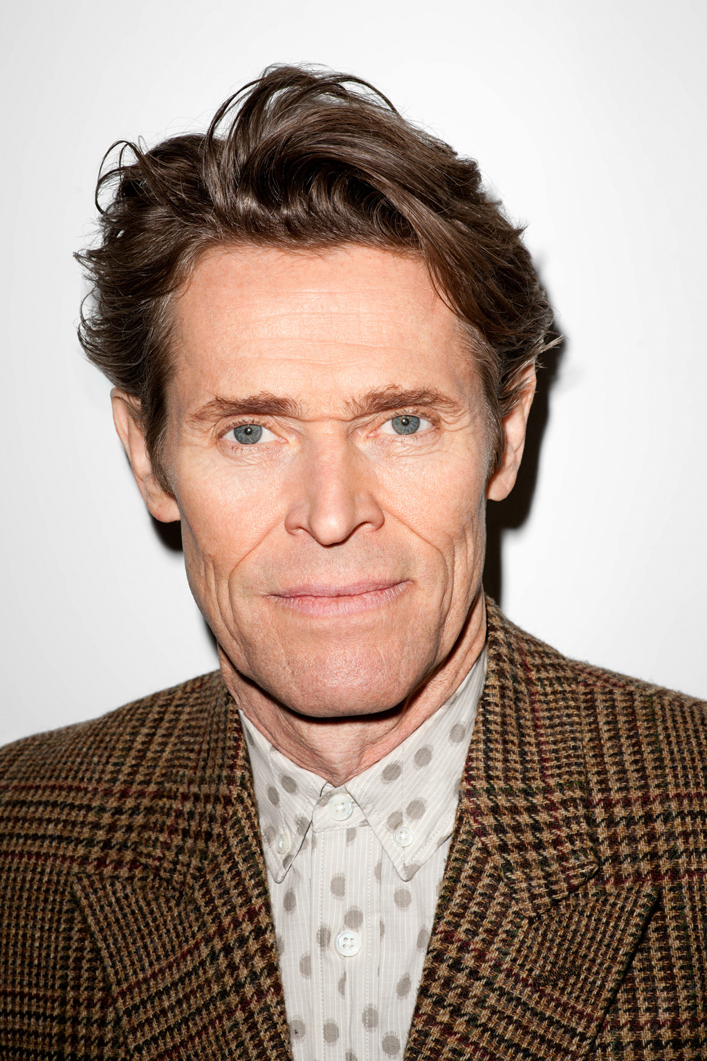 terrysdiary:  Willem Dafoe at my studio #3  all of his shots by terry are so good i am tempted to reblog them all