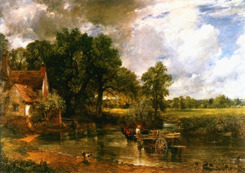 ~ The Haywain, John Constable