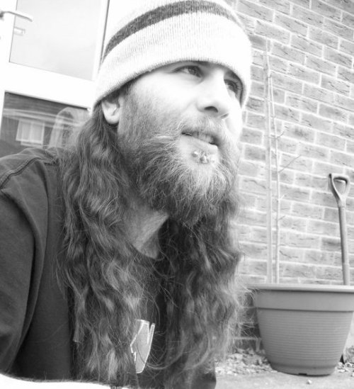 My gorgeous friend Adam before he got his hair dreaded. SUBMISSION from pinkfaerie.