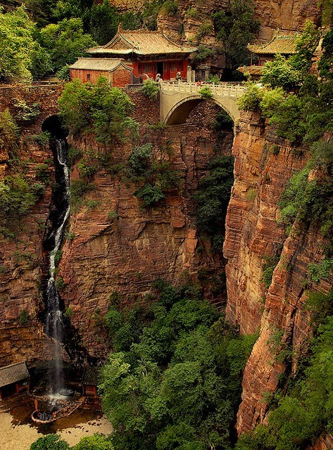 exotic-bazaar:  Mount Cangyan, China.