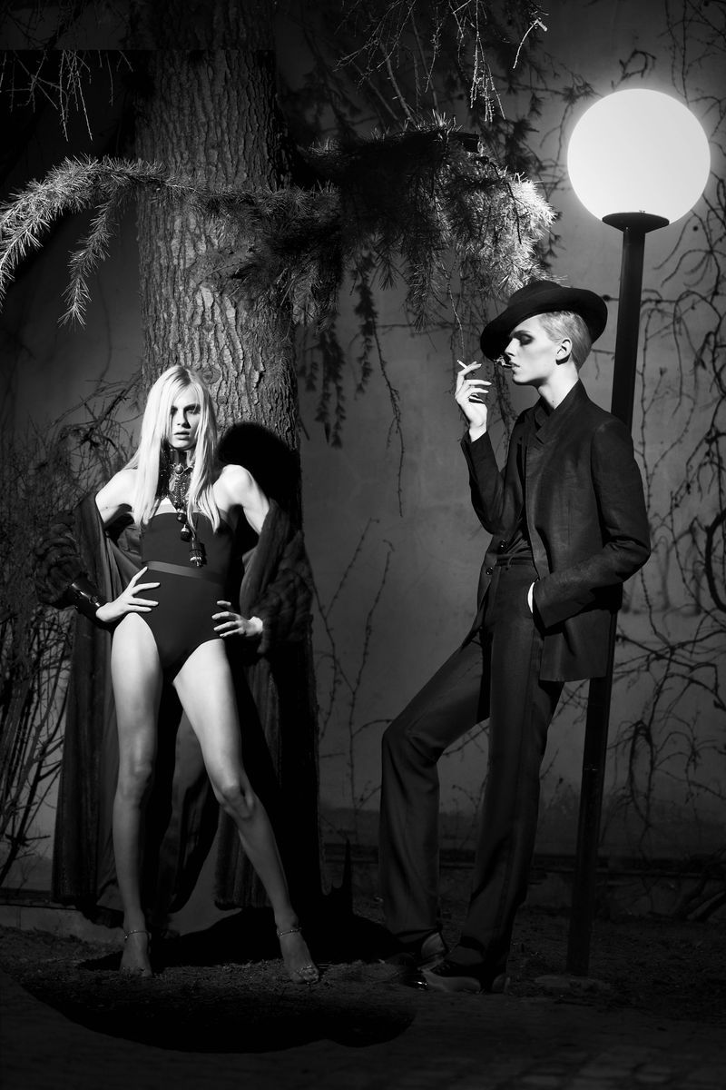 Andrej Pejic: Body Double - Candy #4 by Ali Mahdavi, Summer 2012