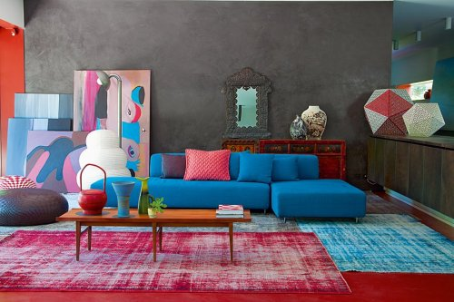 The incredible home of Patrizia Moroso Creative director of the Italian furniture company Moroso.  Designed by the equally incredible Patricia Urquiola.