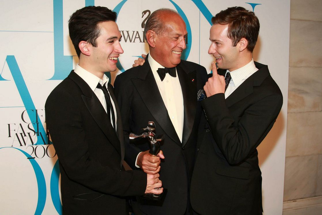 @CFDA 2007. oscar with jack & lazaro @proenzaschouler winning womenswear designer of the year.