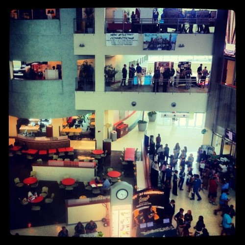 kevinyurasek:  Discover USF Showcase (Taken with instagram)