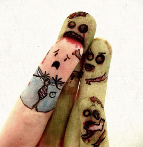 Zombie fingers by Meiio