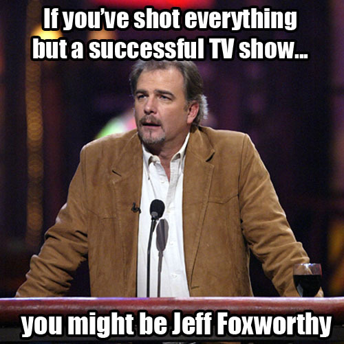 The Roast of Jeff Foxworthy airs tonight at 9:30/8:30c on Comedy Central.