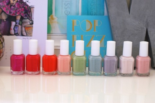 Essie Spring Colours