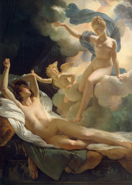 "martinekenblog:  ""Morfeo e Iris"" di Pierre-Narcisse Guérin Goodnight to all my 11262 readers ♥"