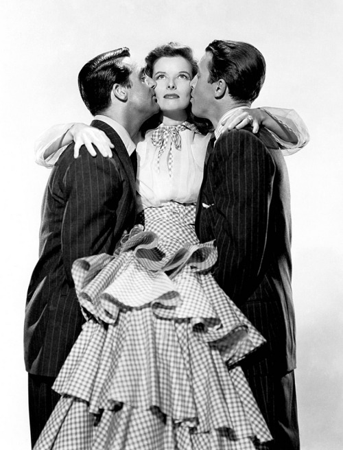 I just love The Philadelphia Story. Jimmy, Cary, and Katharine are in my top 10 favorite actors, too!