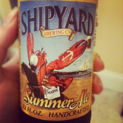 Sickest label #shipyard #summerale (Taken with instagram)