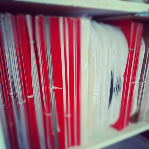 Not even a quarter of our test pressing vault! (Taken with instagram)