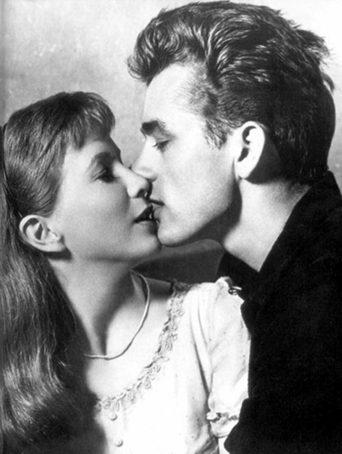 James Dean and Julie Harris, 1955