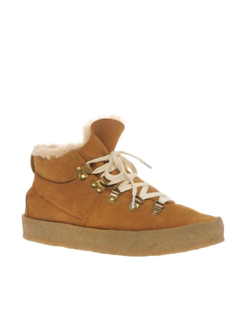 F Troupe Crepe Hiking Flat Ankle BootMore photos & another fashion brands: bit.ly/Ltwn1J