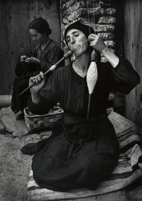 steroge: Spanish Spinner, 1950*W. Eugene Smith